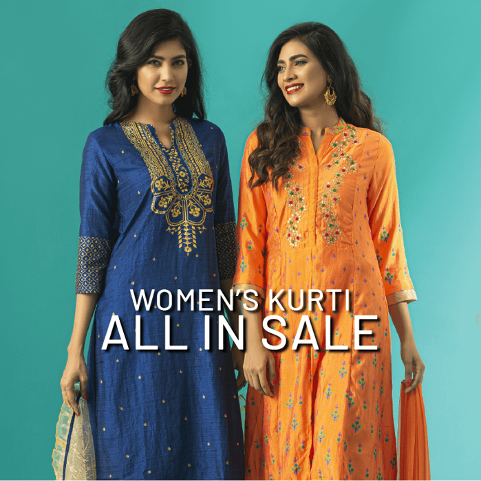Picture for category Long Kurtis