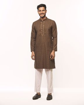 Picture of Mens Basic Kurta