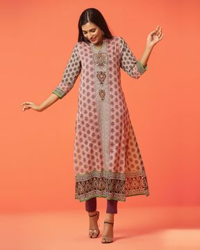 Picture of Luxury Cotton Long Kurti