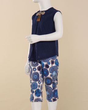 Picture of Girls Fashion  Pant Top