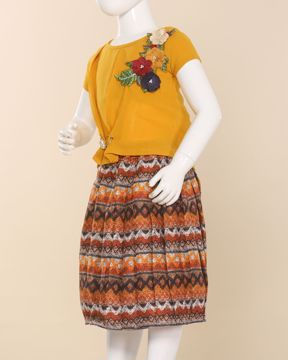 Picture of Girls Fashion Skirt Top
