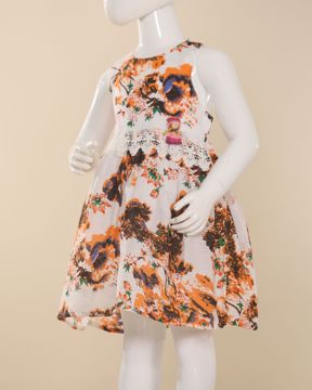 Picture of Girls Woven Frock