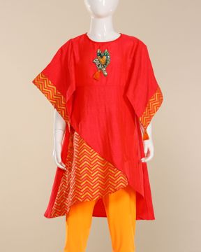 Picture of Girls Woven Kurti
