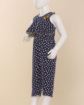 Picture of Girls Woven Printed Jumpsuit