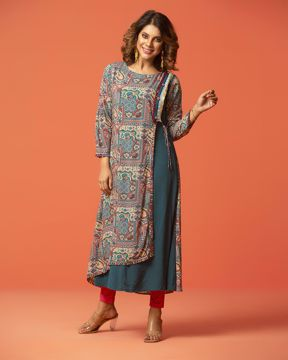 Picture of Asymmetric Pattern Kurti
