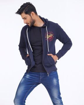 Picture of Mens Classic Zip Hoodie
