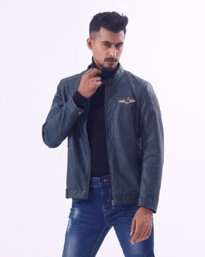 Picture of Mens Rider PU Jacket