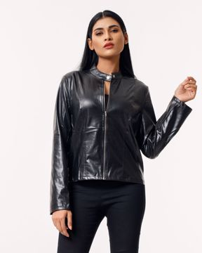 Picture of Womens PU Leather Jacket