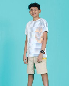 Picture of Striped boys Knit T-shirt