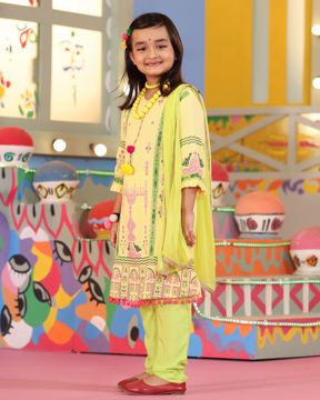 Picture of Girls Fusion Suit Set (7Y - 10Y)