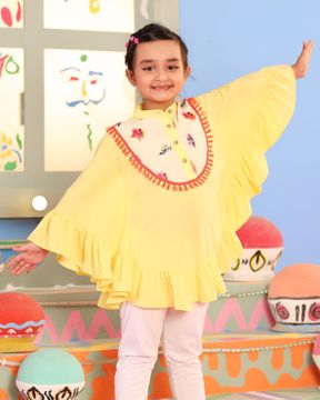 Picture of Girls Woven Cape (7-10 Years)