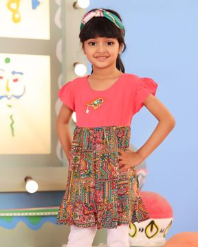 Picture of Girls Woven Frock (3-6 Year)