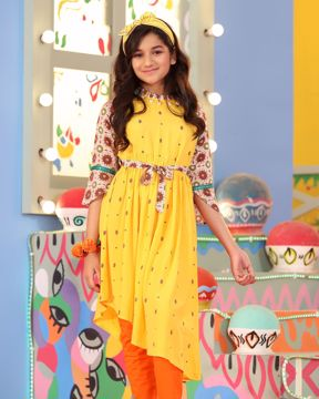 Picture of Girls Woven Kurti (11-14 Year)