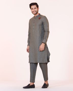 Picture of MENS FUSION KURTA SET