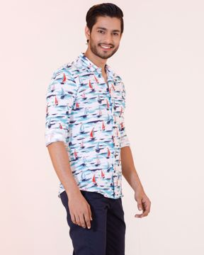 Picture of Mens Knit Casual Shirt