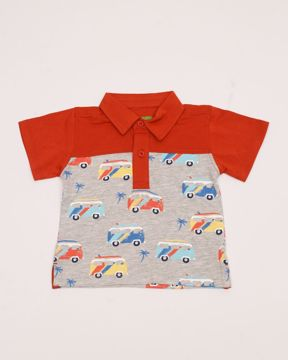 Picture of NEWBORN BOYS KNIT FASHION POLO