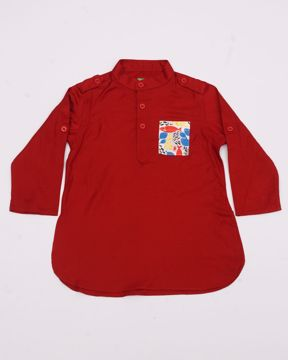 Picture of NEWBORN BOYS BASIC KURTA
