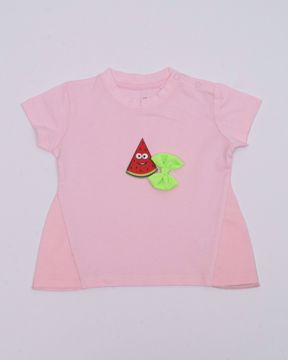 Picture of NEWBORN GIRLS KNIT T-SHIRT