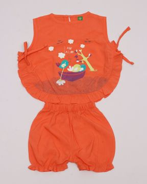 Picture of NEWBORN GIRLS PANT TOP