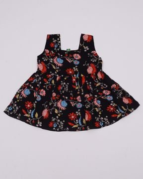 Picture of Newborn Girls Woven Frock (3M - 6M)