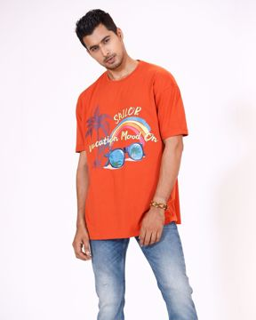 Picture of Men's Knit Boxy T-shirt