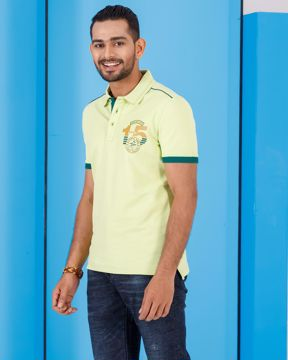 Picture of MENS KNIT FASHION POLO