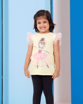 Picture of Girls Knit T-shirt (3-6 Years)
