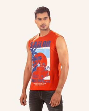 Picture of Men's Knit Fashion Tank Top