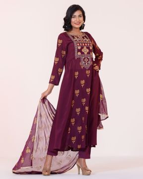 Picture of Women Woven 3PCS
