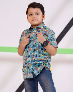 Picture of Boys Knit Casual Shirt (7-10 Years)