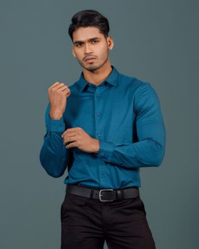 Picture of Mens Knit Business Formal Shirt
