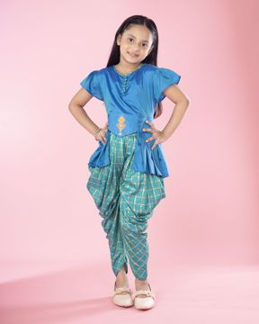 Picture of Girls Woven Pant Tops  (7-10 Years)