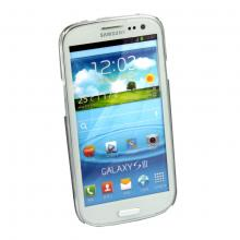 Black Brushed Aluminium Style Laser Hard Case for Samsung Galaxy S3 SIII i9300
