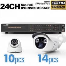 24Ch IPC Non-PoE NVR 1080p Package 62