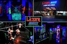 1 Game of Laser Tag Shooting at Lazer Maxx Eton Centris, Greenhills & Pampanga starting at P95