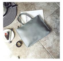 Elegant Beauty Lucky Godness Handbag - Grey