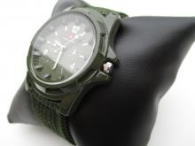 Swiss Army Men's WA2574A Green Fabric Strap Watch