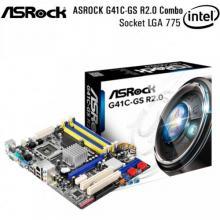 ASROCK G41C-GS R2.0 Combo LGA Socket 775