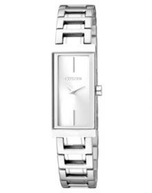 Citizen Analog White Dial Women's Watch EZ6330-51A