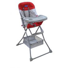 Enfant Baby High Chair (Red/Grey)