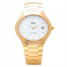Casio Enticer Men's Gold tone plated Stainless steel Strap Watch MTP-1170N-7A