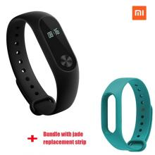 Xiaomi Mi Band 2 Smart Bluetooth Wristband+Jade Replacement Strip(Bundle)