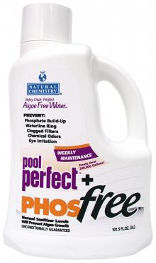 Natural Chemistry Pool Perfect Plus Phos-Free - 3 Liter Bottle