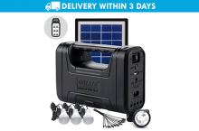Free Delivery: MorganStar GDlite GD-8007 Solar Lighting System for P1099 instead of P5999