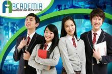 Japanese, Korean, French & Mandarin Classes at Academia Language & Review Center starting at P999