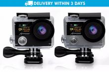 Free Delivery: Meknic A12 Ultra HD Ambarella Chipset Sport Action Camera for P3599 instead of P5800
