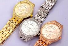 Geneva RD2503 for Women Rhinestone Watches