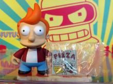 Futurama Kidrobot Fry 2/16 New W/Boxes Foil & Accessory Sealed