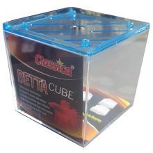 Classica Betta Fighting Fish Mini Aquarium Cube (Crystal Blue)