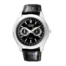 Citizen Quartz Strap Black Dial Men's Watch - AG0160-02E